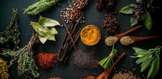 Receitas sem sal: ervas e mais condimentos podem substituir e dar sabor