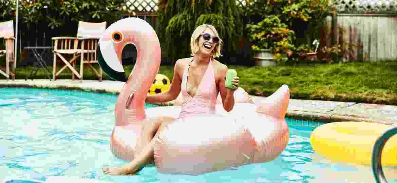 Ícones de Los Angeles, as piscinas podem ser alugadas: app teve um salto de procura durante o verão americano - Getty Images