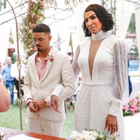 Pepita se casou com bailarino Kayque Nogueira no último dia 19 de setembro - Divulgação