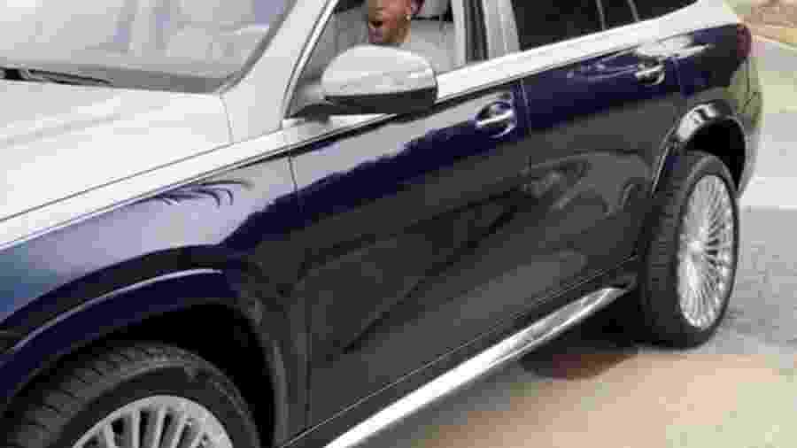 Ludacris em Mercedes-Maybach GLS600 SUV  - Reprodução