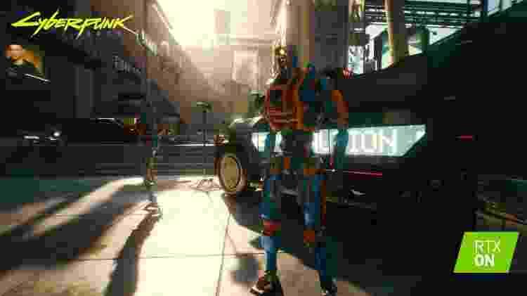 Cyberpunk 2077 - Divulgação/Nvidia - Divulgação/Nvidia