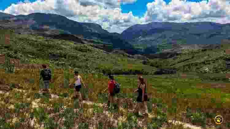 Trilha na Serra do Cipó, em Minas Gerais - Divulgação/Pisa Trekking - Divulgação/Pisa Trekking