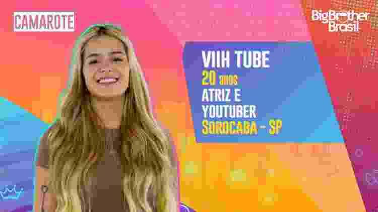 Viih Tube no BBB 21 - Divulgação - Divulgação