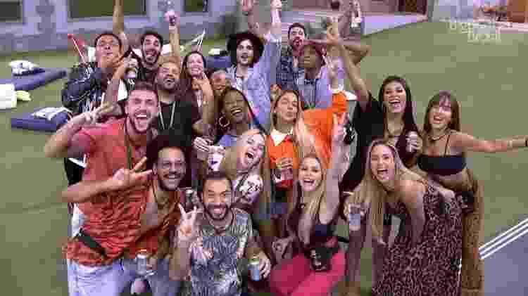 Grupo - Reprodução/Globoplay - Reprodução/Globoplay