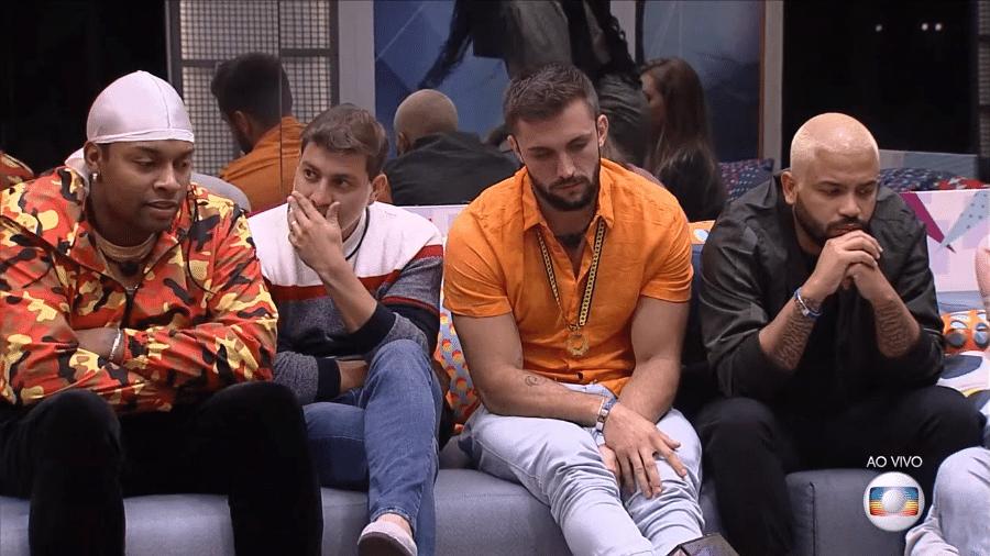 Nego Di e Caio no BBB 21 - Reprodução/TV Globo
