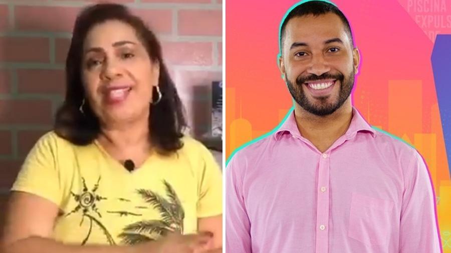 BBB 21: Mãe de Gilberto fala que ele foi aprovado em universidade dos EUA - Reprodução/ Globoplay