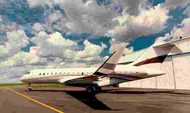 Bombardier Global Express - Divulgação/Flapper - Divulgação/Flapper