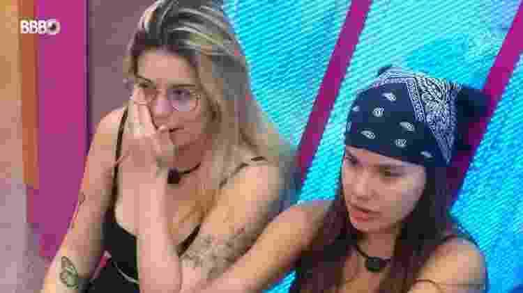 BBB 21: Viih Tube chora por saber que Thaís irá ao paredão - Reprodução/Globoplay - Reprodução/Globoplay