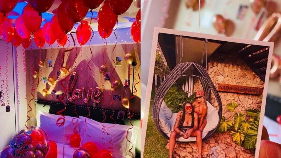 Brunna Gonçalves planeja surpresa de aniversário de relacionamento para Ludmilla - Reprodução/Instagram/Amor Criativo Festas