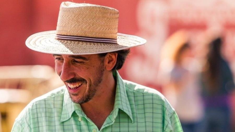 """Patrick Assumpção, criador de agrofloresta em ex-""""minicidade"""" no interior de São Paulo - Rodolfo Goud/Reprodução/Facebook"""