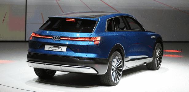 Audi e-tron quattro Concept - Murilo Góes/UOL - Murilo Góes/UOL