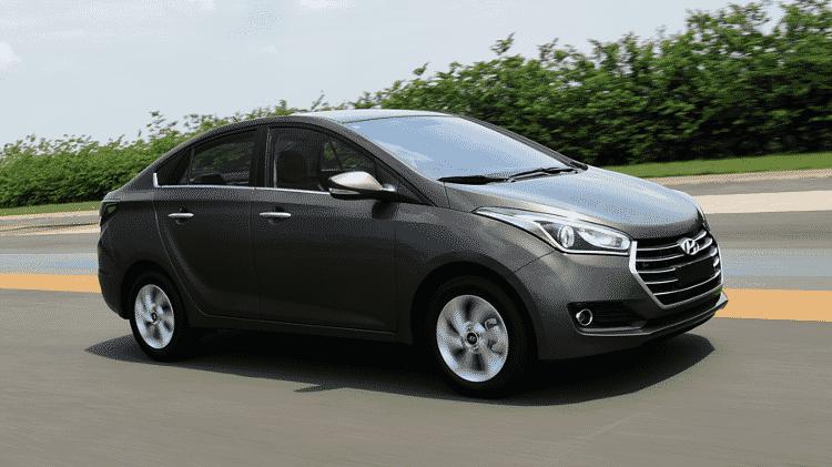 Hyundai HB20S 1.6 A/T Premium - Murilo Góes/UOL - Murilo Góes/UOL