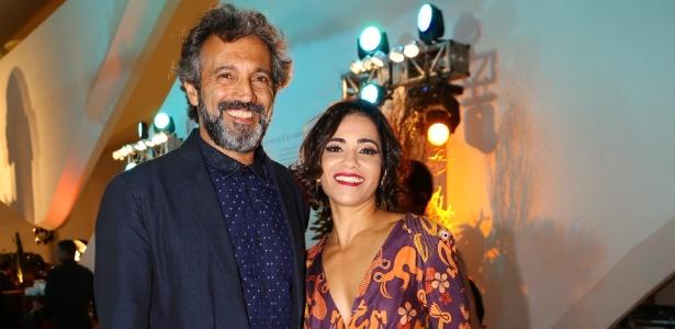 Domingos Montagner ao lado da mulher Luciana Lima - Felipe Assumpção/AgNews