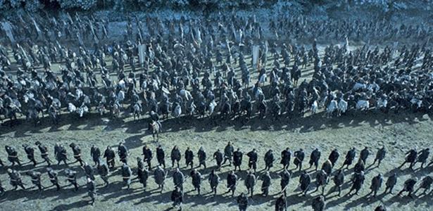 """A Batalha dos Bastardos, de """"Game of Thrones"""", foi filmada na Irlanda do Norte, que é parte do Reino Unido - Divulgação/HBO"""