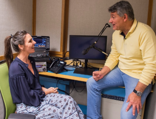 Glenda será 1ª narradora da Globo; função é exercida por homens como Cléber Machado - João Cotta/Divulgação/TV Globo