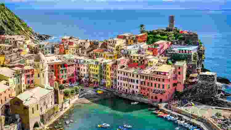 Cinque Terre, Itália  - Getty Images - Getty Images
