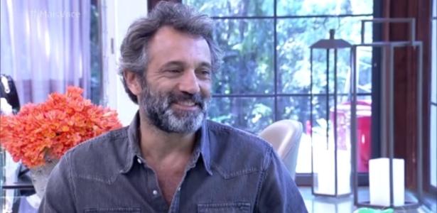"""Domingos Montagner em sua última entrevista para Ana Maria Braga no """"Mais Você"""" - Reprodução/Globo"""