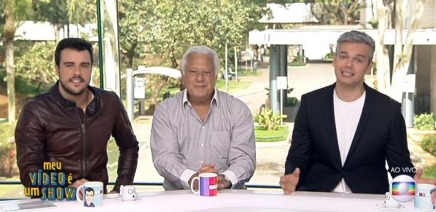 """Antônio Fagundes comenta o rótulo que ganhou de """"galã"""" e de """"homem-desejado"""" - Reprodução/TV Globo"""