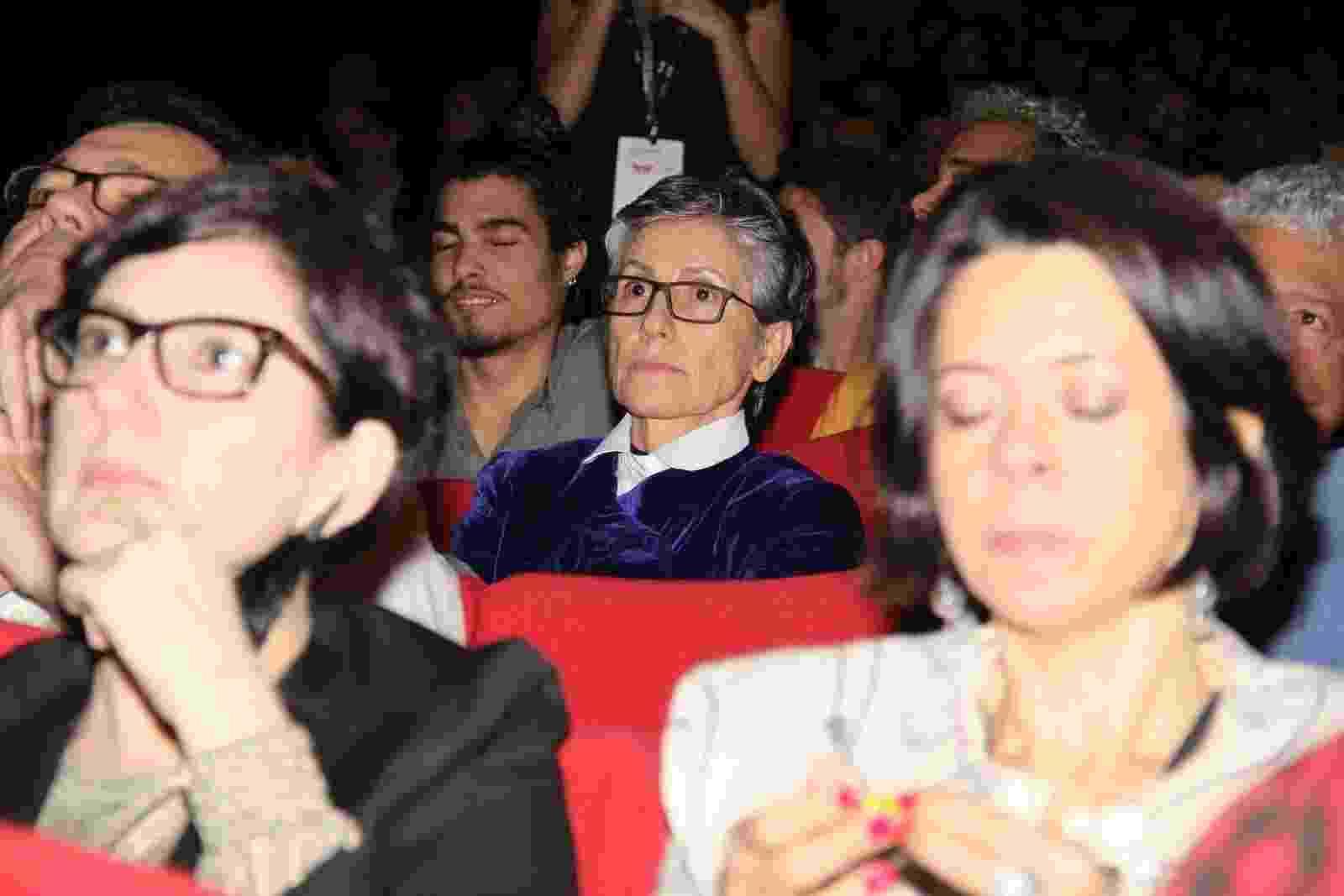 6.out.2016 - A atriz Cássia Kis na abertura do Festival de Cinema do Rio, na Cidade das Artes, na Barra da Tijuca - Agnews