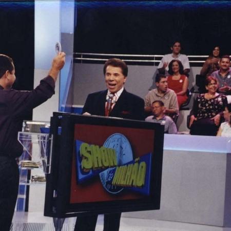 """Silvio Santos no """"Show do Milhão"""" - Divulgação"""