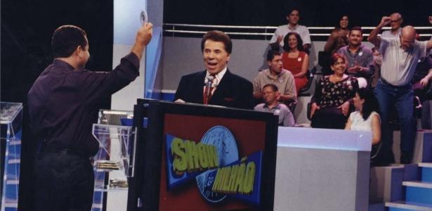 """Silvio Santos no """"Show do Milhão"""""""