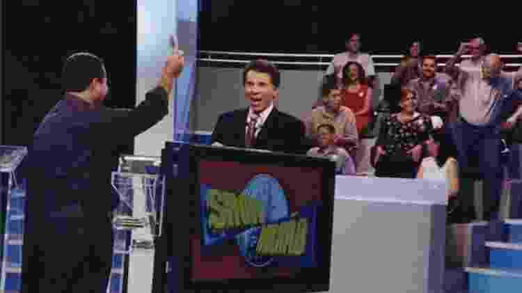 Silvio Santos no 'Show do Milhão', um dos programas de maior da história do SBT - Divulgação - Divulgação