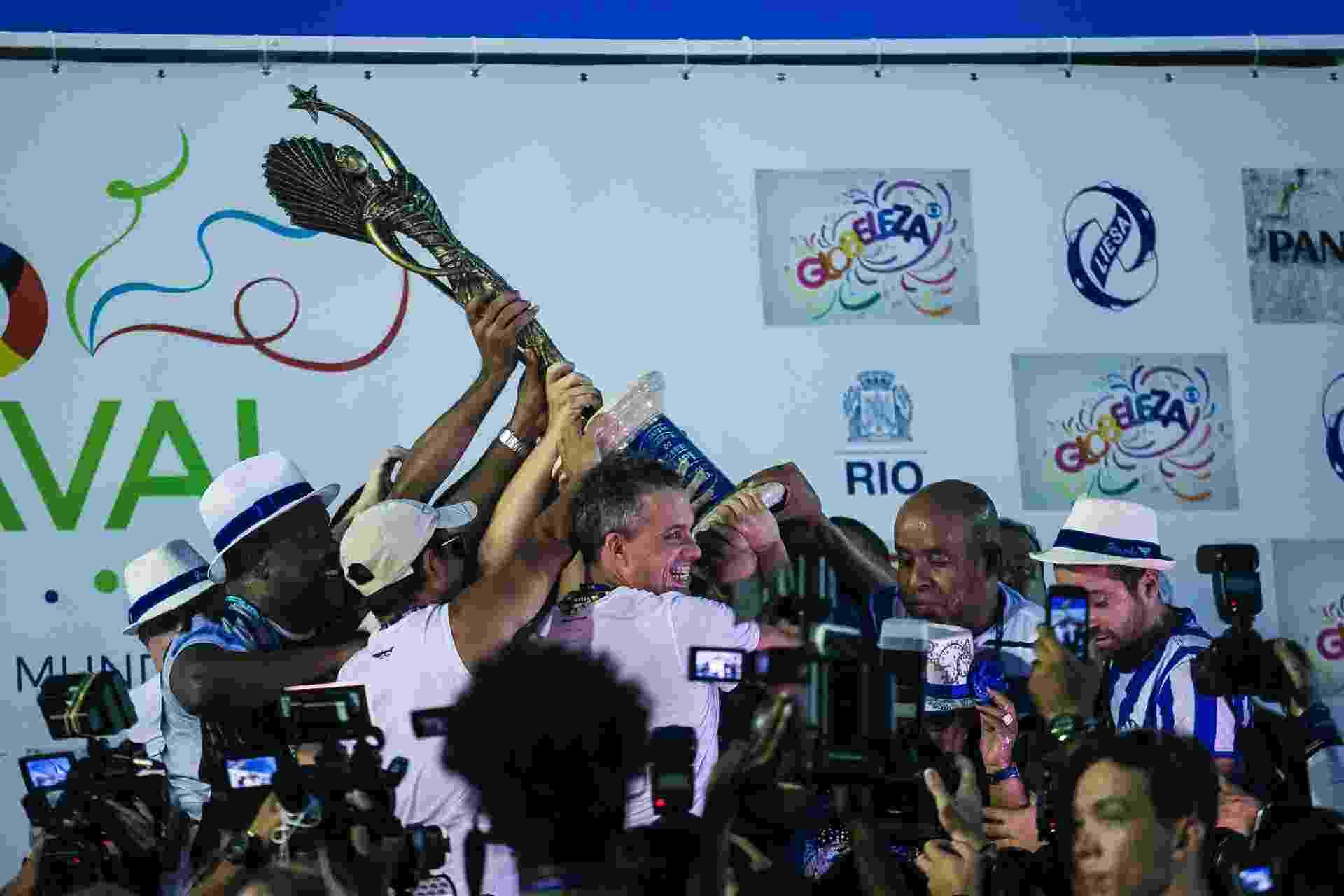 Portela é campeã do Carnaval do Rio de Janeiro - DHAVID NORMANDO/FUTURA PRESS/ESTADÃO CONTEÚDO