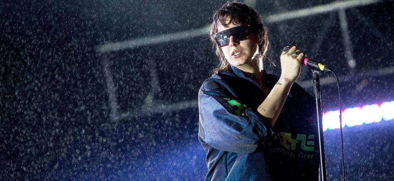 A banda Strokes encerrou o segundo dia do Lollapalooza no palco Skol com um show repleto de hits - Keiny Andrade/Folhapress