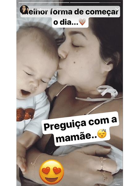 Thais Fersoza compartilhou momento fofo ao lado da filha Melinda - Reprodução/Instagram - Reprodução/Instagram