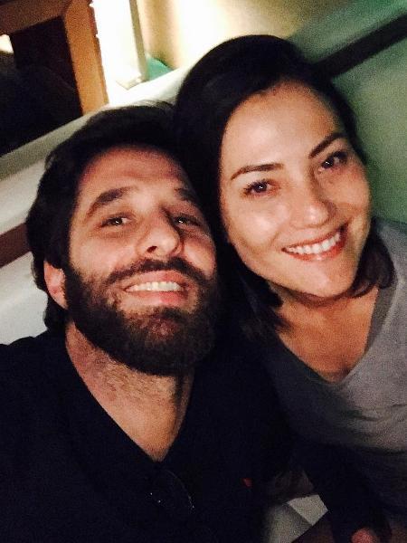 Rafinha Bastos publica primeira foto com nova namorada - Reprodução/Instagram/rafinhabastos