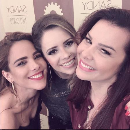 Wanessa, Sandy e Fernanda Souza - Reprodução/Instagram/wanessa