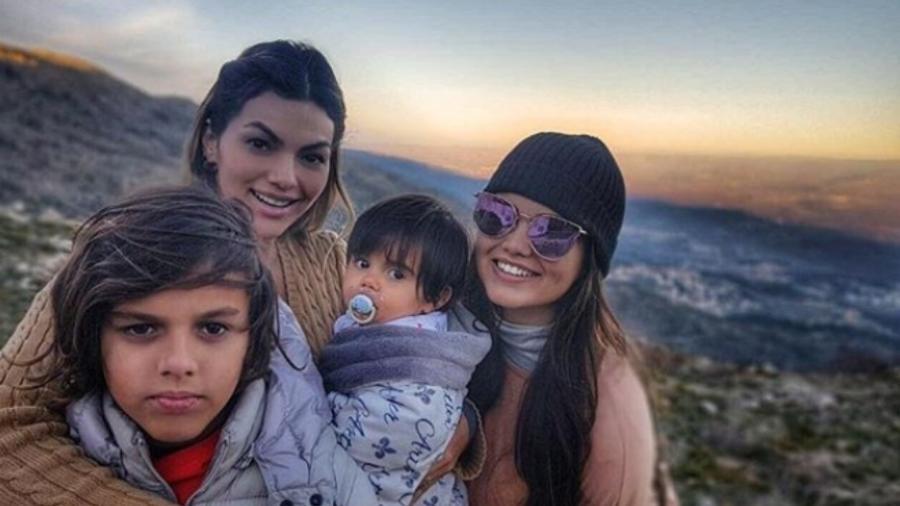 Kelly Key e os filhos - Reprodução/Instagram/kellykeyoficial