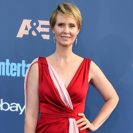 "A atriz Cynthia Nixon, estrela da série ""Sex and the City"" - Steve Granitz/WireImage"