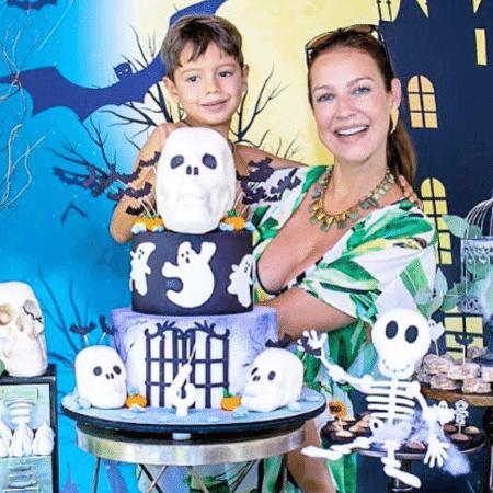 Luana Piovani com o filho mais velho, Dom - Reprodução/Instagram/luapio