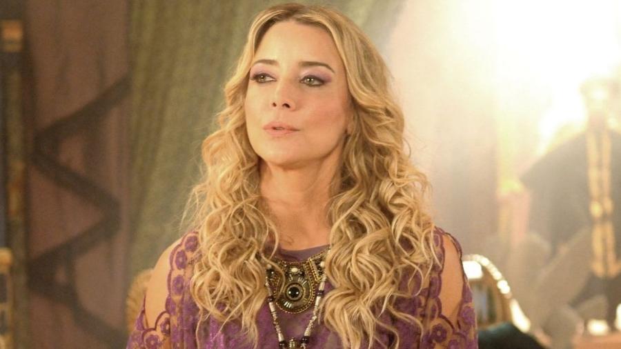 """Christine Fernandes foi uma das protagonistas de """"Essas Mulheres"""", em reprise na Record - Divulgação/TV Record"""