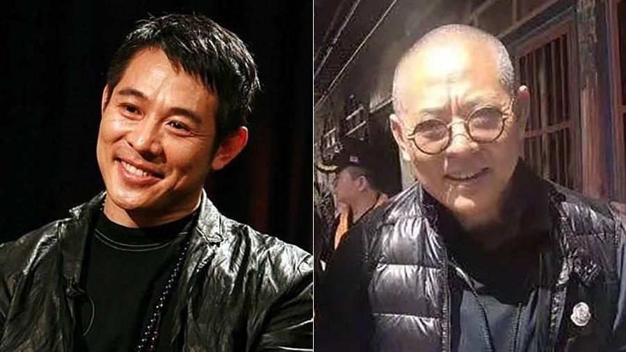 Antes e depois: Jet Li surge com irreconhecível em foto - Reprodução