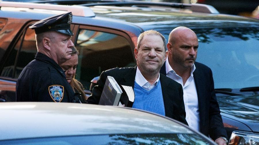 Harvey Weinstein foi preso nesta sexta (25) - Getty Images