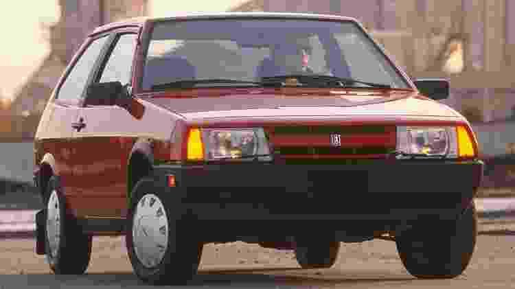 Hatch Samara foi um dos primeiros modelos da Lada no Brasil - Divulgação