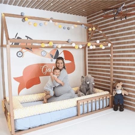 Andressa Suita mostra o quarto do filho - Reprodução/Instagram