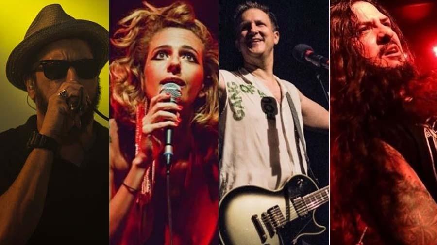 Nação Zumbi, Letrux, Plebe Rude e Krisiun se apresentarão nos 20 anos do Porão do Rock em Brasília - Montagem/UOL