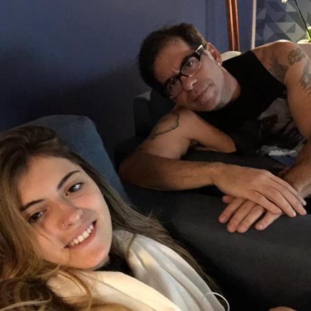 Leandro Hassum ao lado da filha, Pietra - Reprodução/Instagram/leandrohassum