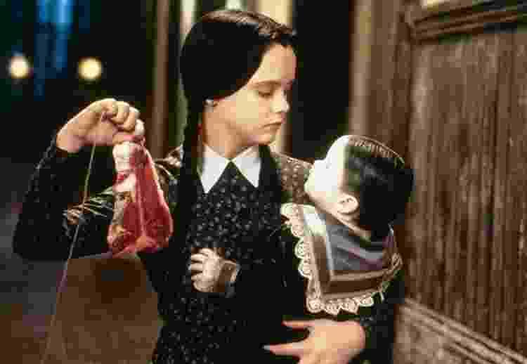 Christina Ricci em 'A Família Addams 2' (1993) - Divulgação - Divulgação