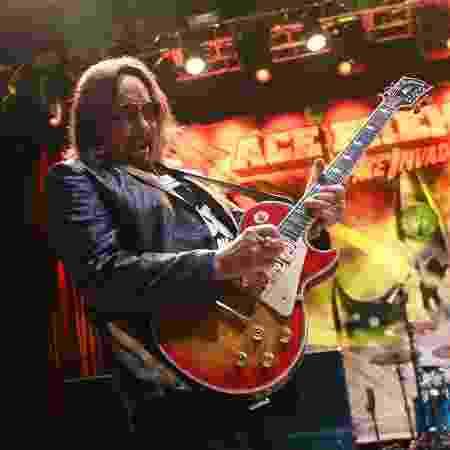 Ace Frehley tocou com a banda Kiss e hoje está em carreira solo - Ethan Miller/Getty Images - Ethan Miller/Getty Images