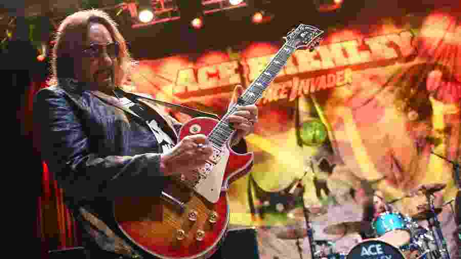 Ace Frehley tocou com a banda Kiss - Ethan Miller/Getty Images