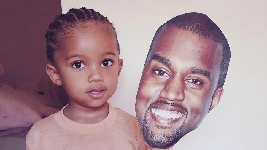 Saint, de 2 anos, é o segundo filho de Kim e Kanye West - Reprodução/Instagram/kimkardashian