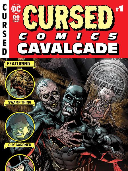 """Capa de """"Cursed Comic Cavalcade"""" - Reprodução/DC"""