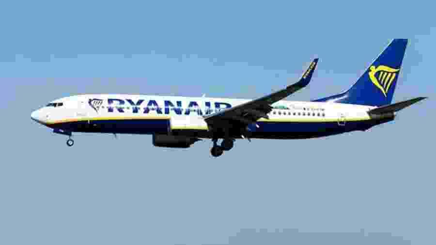 Ryanair afirmou que notificou a polícia britânica e que vai investigar episódio - PA