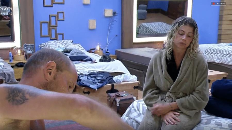 Catia Paganote conversa com Rafael Ilha - Reprodução/Play Plus