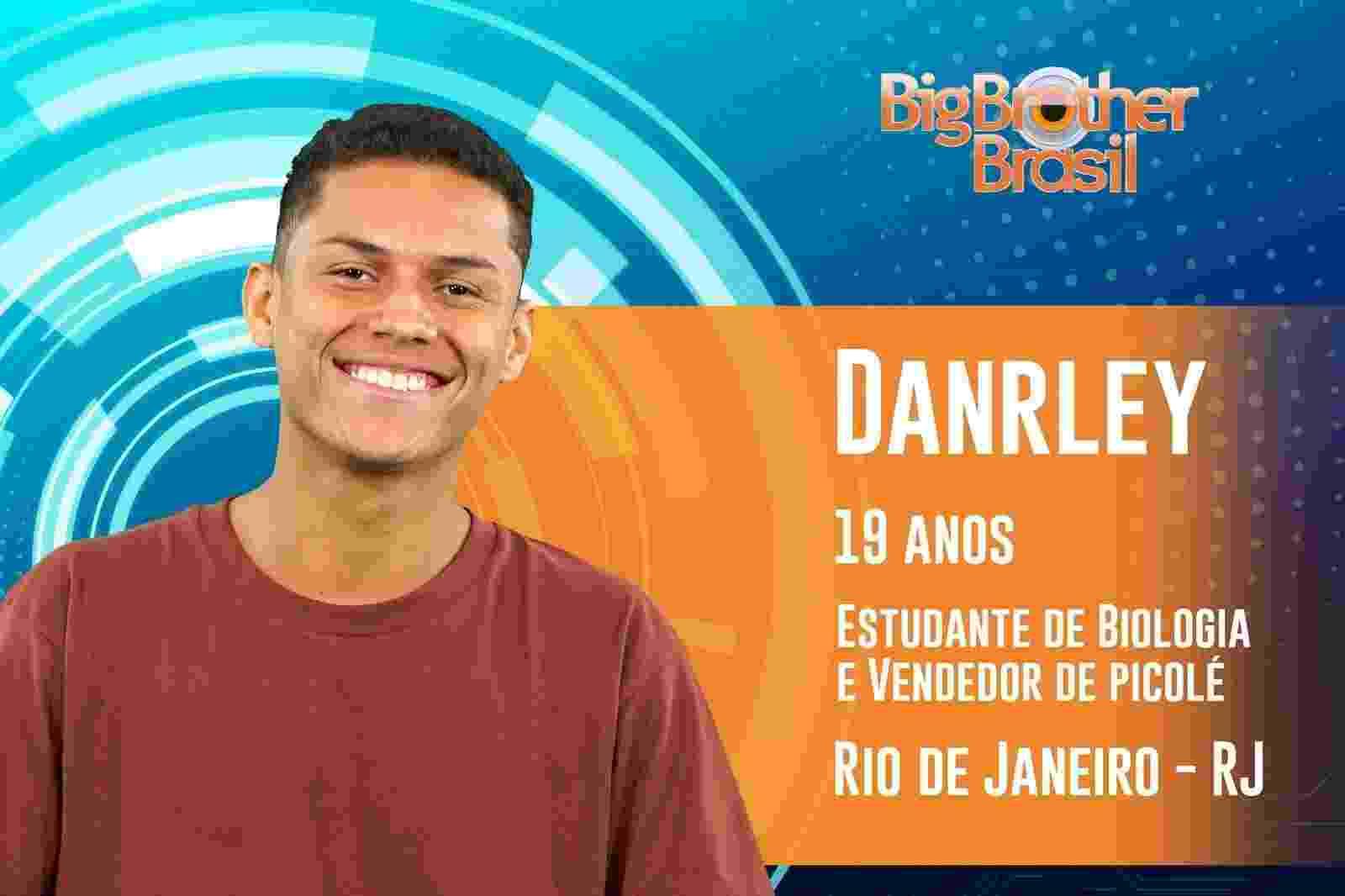 """Danrley é o terceiro participante anunciado do """"BBB19"""" - Reprodução/TvGlobo"""