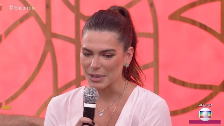 """Mariana Goldfarb no """"Encontro"""" - Reprodução/Globo"""